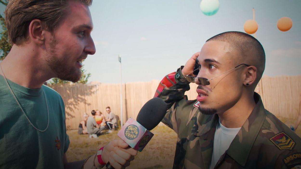Afbeelding van XTC op een festival, Bastiaan vraagt het aan bezoekers   Drugslab Extra