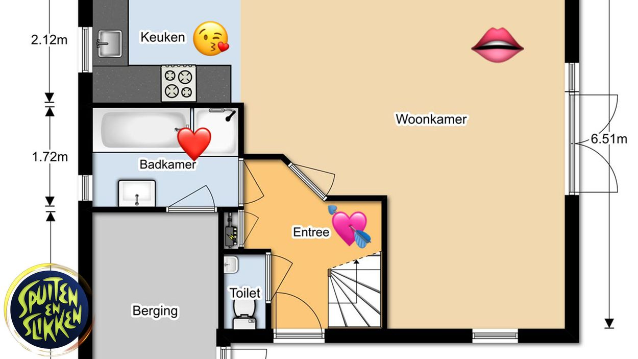 Afbeelding van De plattegrond voor seks in je huis
