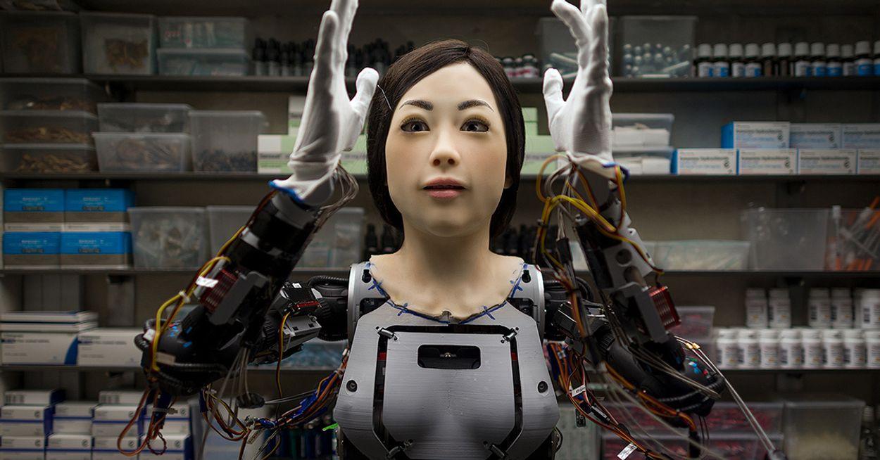 Afbeelding van Ik bezocht een robot die drugsvoorlichting geeft