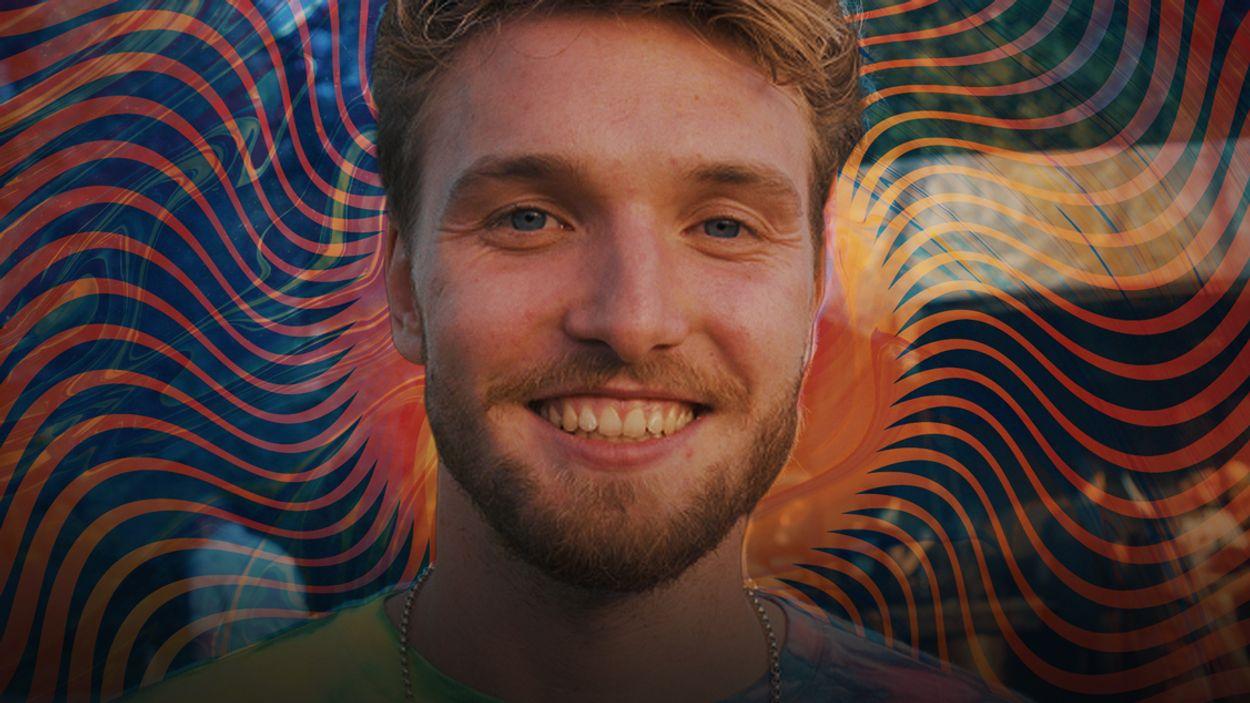 Afbeelding van Bastiaan gebruikt truffels op een psychedelisch festival   Drugslab