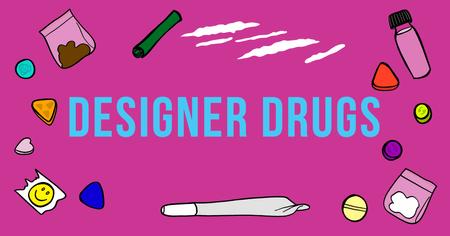 Afbeelding van Designer drugs
